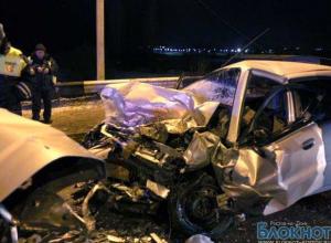 В крупном ДТП под Ростовом пострадали граждане Украины