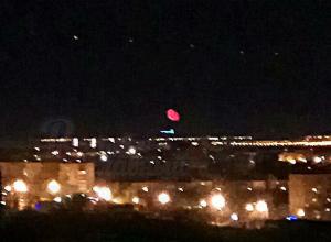 Кроваво-красное НЛО в небе над Батайском вызвало бурную реакцию потрясенных горожан