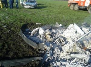 В Ростовской области рухнул вертолет «Робинсон-44»: 2 погибли
