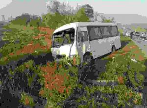 В ДТП с автобусом в Ростовской области 1 человек погиб, 3 пострадали