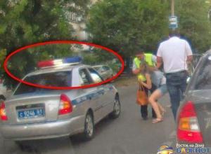 В Ростовском ГИБДД утверждают, что сотрудники ДПС, сбившие девушку, ехали со спецсигналами