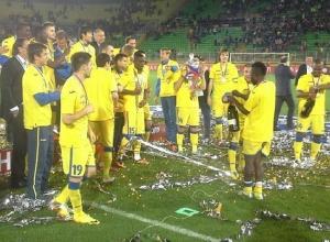Футбольный клуб «Ростов» впервые стал обладателем Кубка России