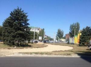 На площади Гагарина изменится схема движения