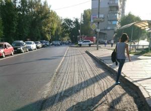 И так сойдет: неоконченной бросили Зоологическую ростовские дорожники