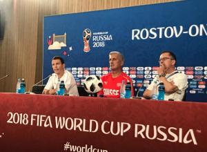 Похвалил «Ростов-Арену» и пожаловался на жару главный тренер Швейцарии