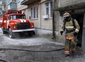 В Волгодонске в пожаре погибли мужчина и женщина