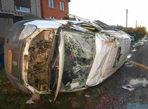 В ДТП с маршруткой в Батайске пострадали 6 человек