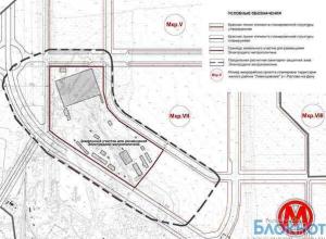 В Ростове утвердили планировку участков, прилегающих к будущему метро