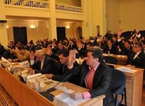 Гордума приняла отставку Михаила Чернышева без его участия