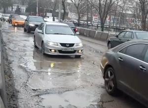 Подрядчики по ремонту дорог бежали из Ростова из-за отсутствия денег