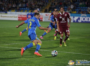 Футбольный клуб «Ростов» в домашнем матче уступил «Рубину»