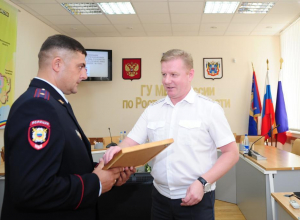 В Ростовской области конвоир спас женщину
