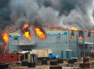 Крупные рынки проверят в Ростовской области после серии страшных пожаров