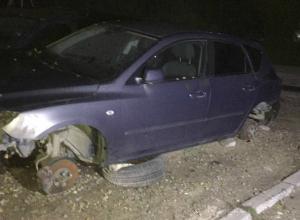 Жестокое надругательство над разобранной для ремонта иномаркой совершили «жадные» автоворы в Ростове
