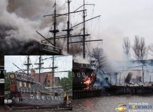 «Петровский причал»: сгоревшие рестораны восстановят уже к лету
