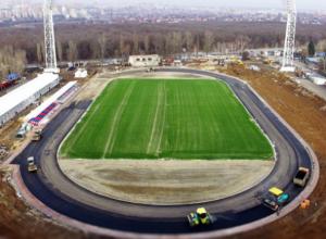 Реконструкция стадиона «СКА» отстает от графика на полтора месяца