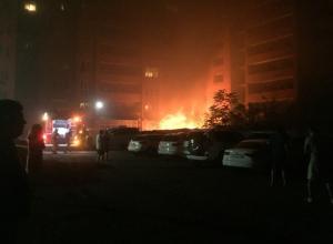 Бурная и «горячая» ночь выдалась у жителей многоэтажки в Ростове из-за непотушенного окурка