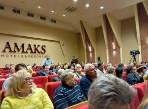 Встреча Григория Явлинского со своими избирателями в Ростове началась с непредвиденного казуса