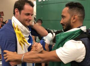 Арабские болельщики благодарят Аллаха за безопасное прибытие в Ростов, «далекий от Украины»