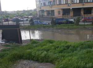 Кошмарная дорога, утопающая в грязи, возмутила жителя Ростова