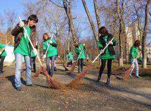 В рамках месячника чистоты масштабные работы развернуты во всех районах Ростова-на-Дону