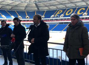 Представители FIFA остались довольны готовностью «Ростов-Арены» к ЧМ-2018