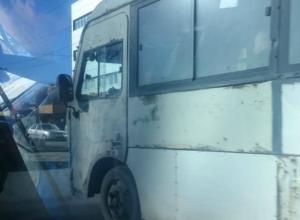 «Восставшая из мертвых» маршрутка ужаснула своим видом жителей Ростова