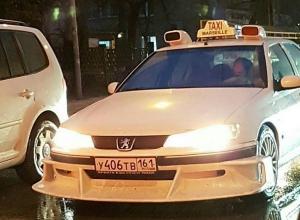 Легендарный автомобиль из фильма «Такси» признали ростовчане в белом «Пежо»