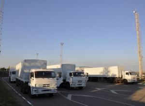 Российские таможенники завершили досмотр всех 280 грузовиков гуманитарного конвоя