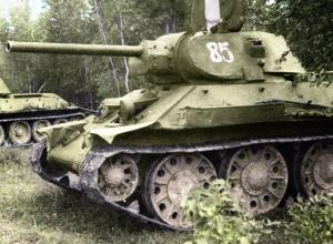 В Ростове на дне Дона нашли танк времен ВОВ