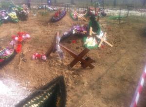 В Ростовской области вандалы разворотили на кладбище более 20 могил