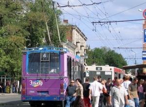 Автобусы и маршрутки решили убрать из центра Ростова на Первомай