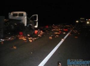 В Ростовской области столкнулись 2 «Газели»: водители погибли
