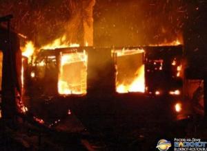 В Красносулинском районе на пожаре погибли двое мужчин