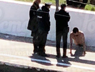 Кто на голенького: в Ростове на Нансена поймали чрезмерно обнажившегося мужчину