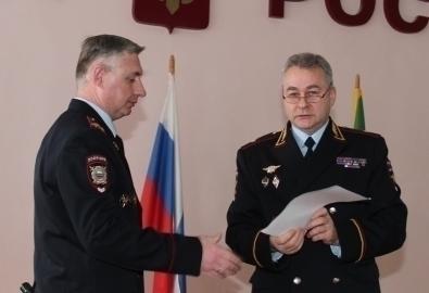 В Сальском районе назначен новый начальник полиции