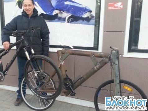 Ростовчанин собрал велосипед весом 113 килограммов и обменял его на новый стоимостью 200 тысяч рублей