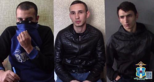 ВРостове задержали группу автоворов, орудовавших в«Суворовском»