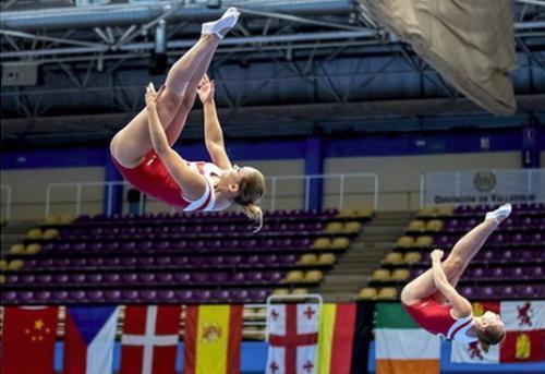 Ростовчанки выиграли 4 медали насоревнованиях попрыжкам набатуте
