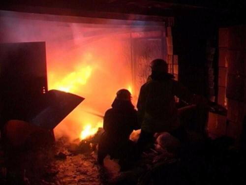 ВРостове ночью сгорел Бентли