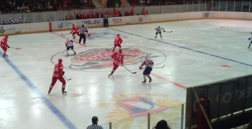 Во втором матче ХК «Ростов» уступил «Мордовии» по буллитам