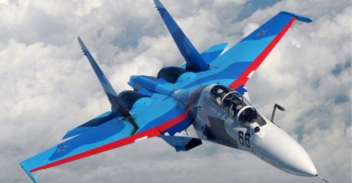Истребительный авиаполк ЮВО вРостовской области получил два новых истребителя Су-30СМ