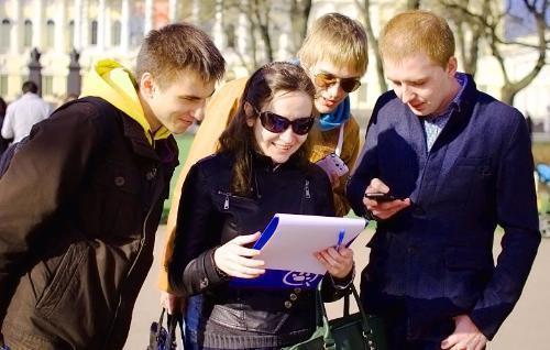Туристам предлагают познакомиться с Ростовом с помощью своих мобильных телефонов