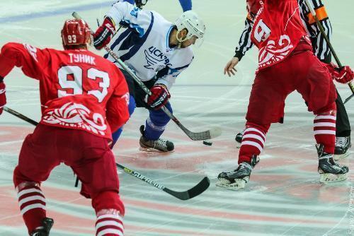 Хоккейный клуб «Ростов» впервой домашней игре обыграл ЦСК ВВС