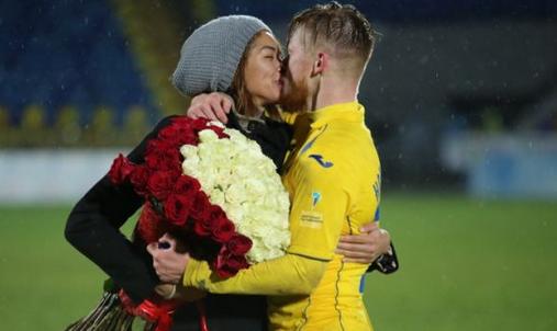 Защитник ФК «Ростов» сделал предложение своей возлюбленной после победы над московским «Торпедо»