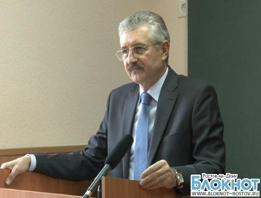 Председателю ростовского облизбиркома Сергею Юсову объявили выговор за выборы 8 сентября