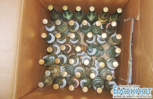 В Ростовской области изъяли 30 тысяч бутылок контрафактной водки
