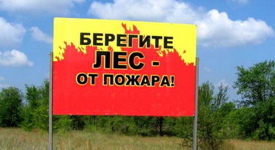 Несмотря на похолодание, МЧС предупреждает о чрезвычайной пожароопасности в Ростовской области