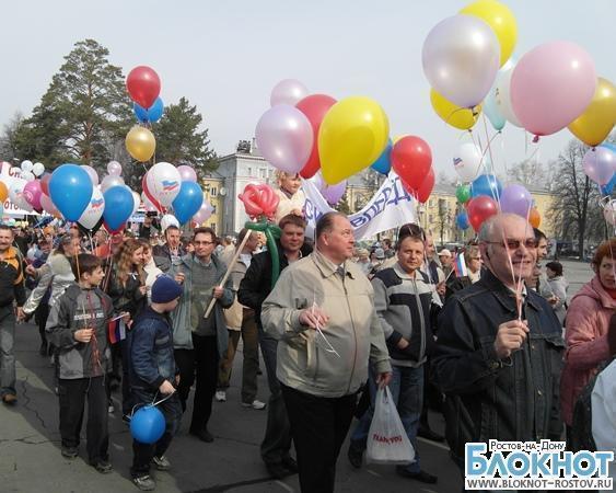 Спортивные праздники и митинги ждут ростовчан на первомай