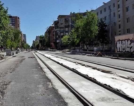 В Ростове на улице Горького открыто трамвайное движение на участке от Буденновского до Крепостного